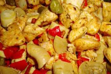Ensalada de Pollo y Palmitos
