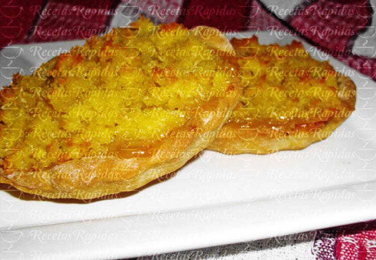 Tartaletas de Dulce de Leche y Coco