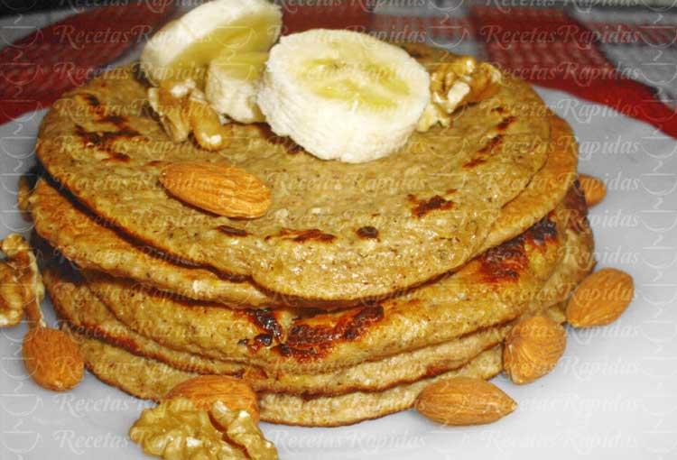 Cómo hacer tortitas de avena y plátano sin azúcar ni harina