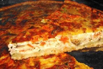 Tarta de Berenjenas y Tomates al horno