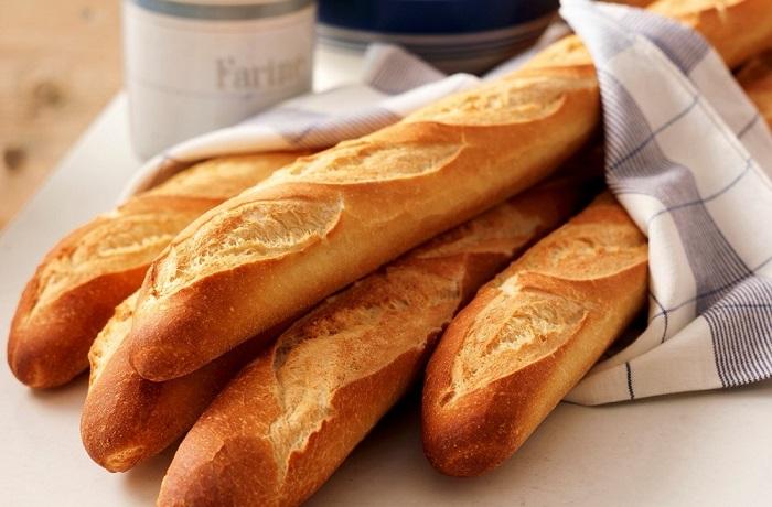 ▷ Receta de Pan Baguette Francés - Recetas de Pan