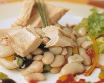 receta de Alubias con atún