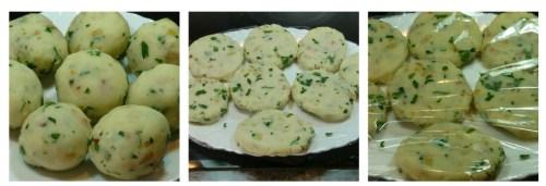 Preparanto las tortas de patata