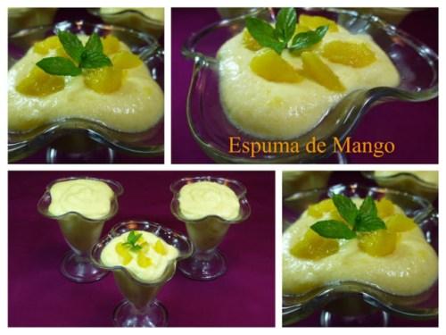 Postres con mango
