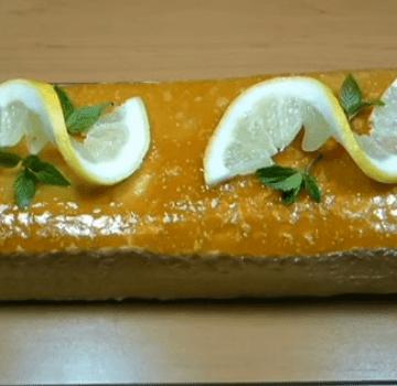 Pudin de limón