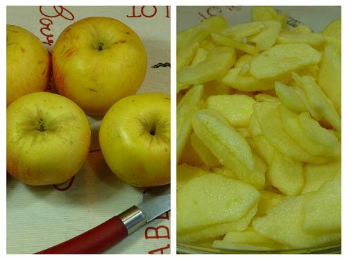 Manzanas para el bizcocho