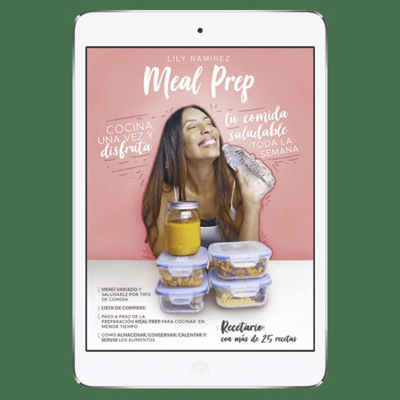 E-Book Meal Prep de Lilibeth Ramírez