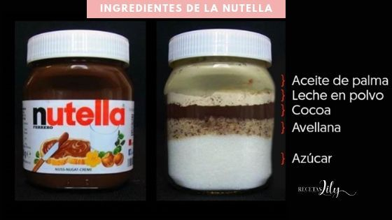 Nutella Saludable