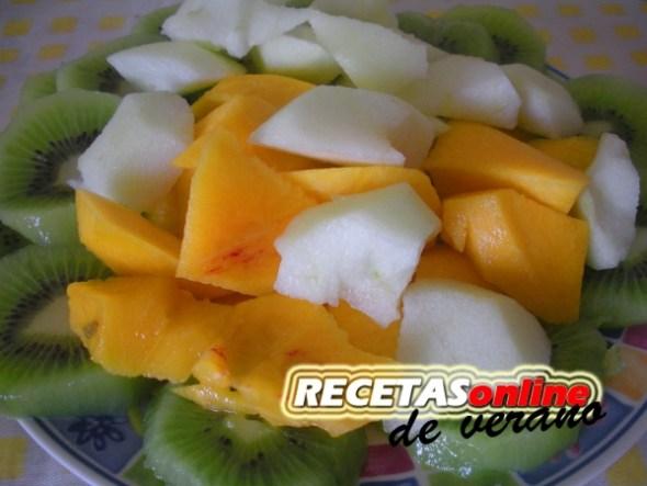 Verbena de frutas - Recetas de cocina RECETASonline