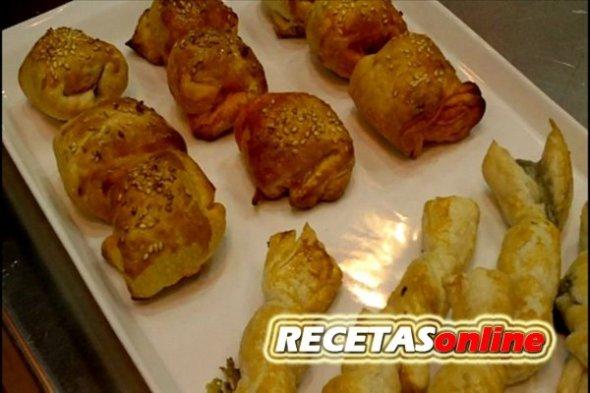 hojaldritos - Recetas de cocina RECETASonline