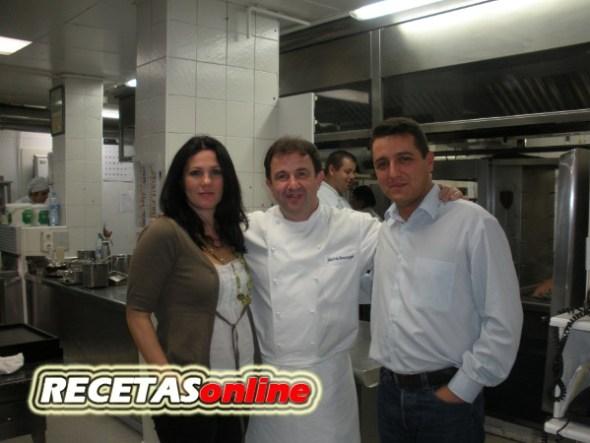 Martin Berasategui nos recibe en su cocina