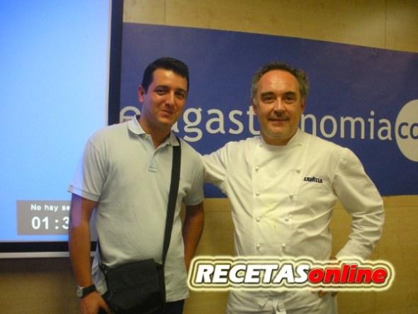 Roberto y Ferrán Adriá pra RECETASonline