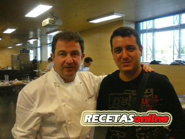 Roberto y Martín Berasategui RECETASonline
