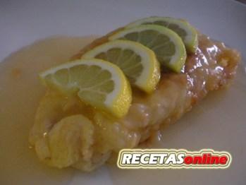 Pollo al limón - Recetas de cocina RECETASonline