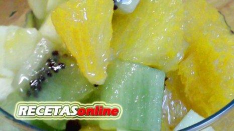 Macedonia de frutas - Recetas de cocina RECETASonline
