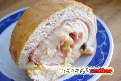 pan de jamón - Recetas de cocina RECETASonline