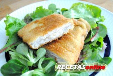 San jacobo de lomo de cerdo y parmesano - Recetas de cocina RECETASonline