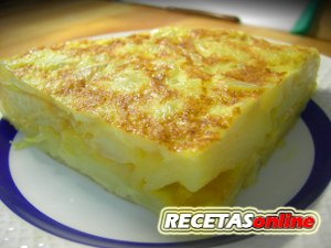 Tortilla de patata - Recetas de cocina-RECETASonline