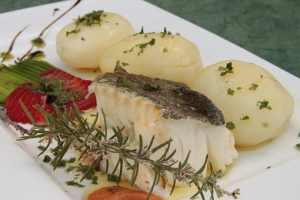 merluza cocida con patatas
