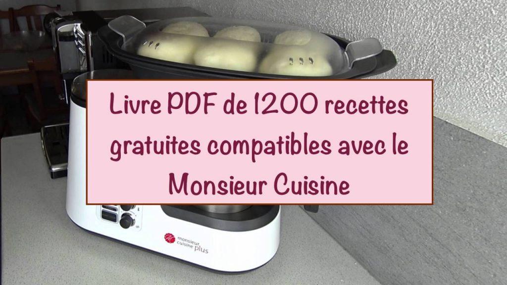 recettes monsieur cuisine