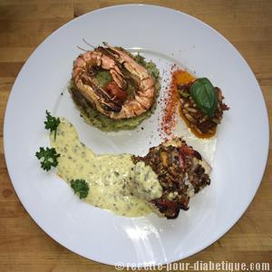 puree-verte-crevettes