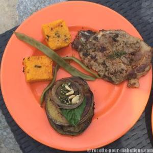 polenta-aubergine