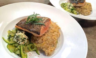 saumon-risotto-estragon
