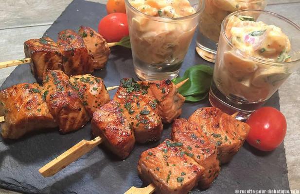 tartare-saumon-brochettes