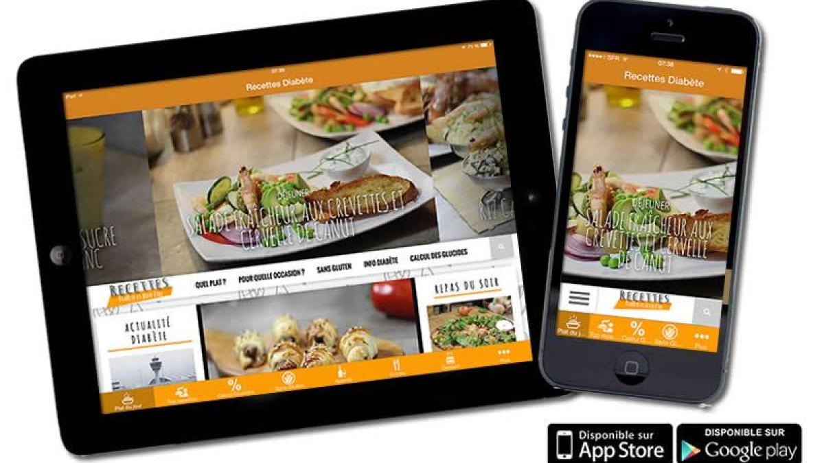 Application Mobile Pour Gourmands Diabetiques Recettes Et Diabete