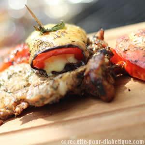 aubergine-tomate-mozzarella