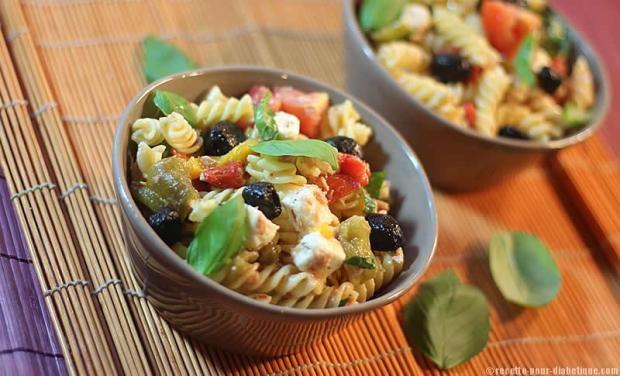 salade de pates grecque
