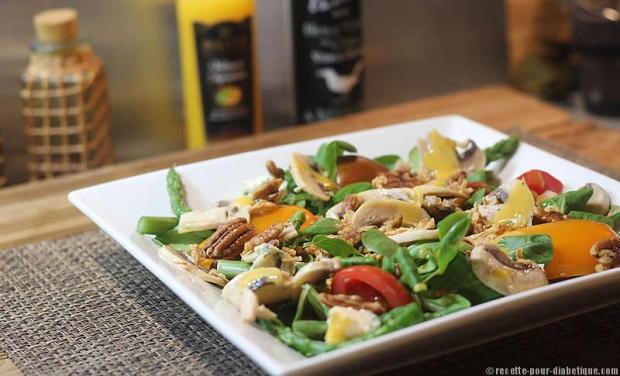 salade-champignons