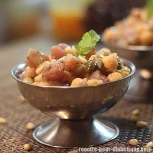 salade-thon-pois-chiches