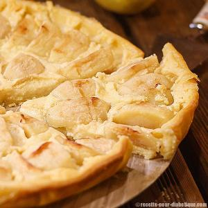 tarte pomme creme patissiere