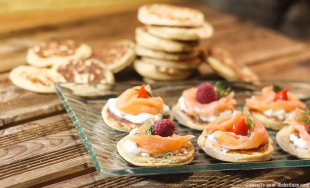 Blinis-au-saumon