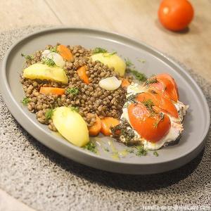 saumon-aux-lentilles-vertes