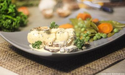 poulet-vapeur-creme-shiitake