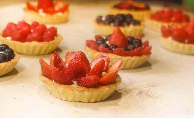 La recette de tartelettes aux fruits rouges par le site recette pour diabetique.com