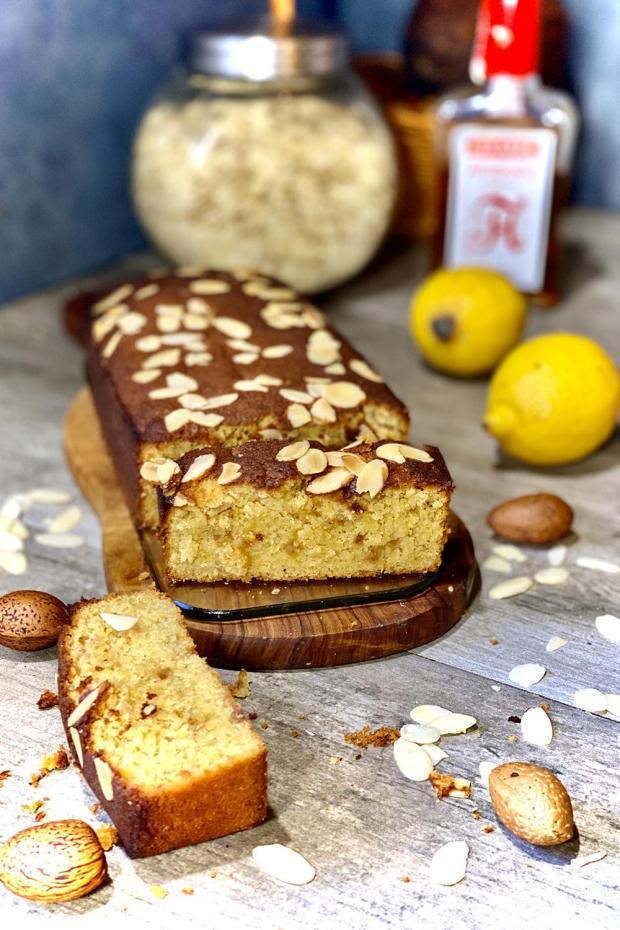 cake citron amande sans sucre
