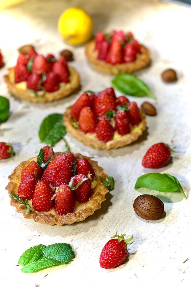 tartelette-fraise-lemoncurd