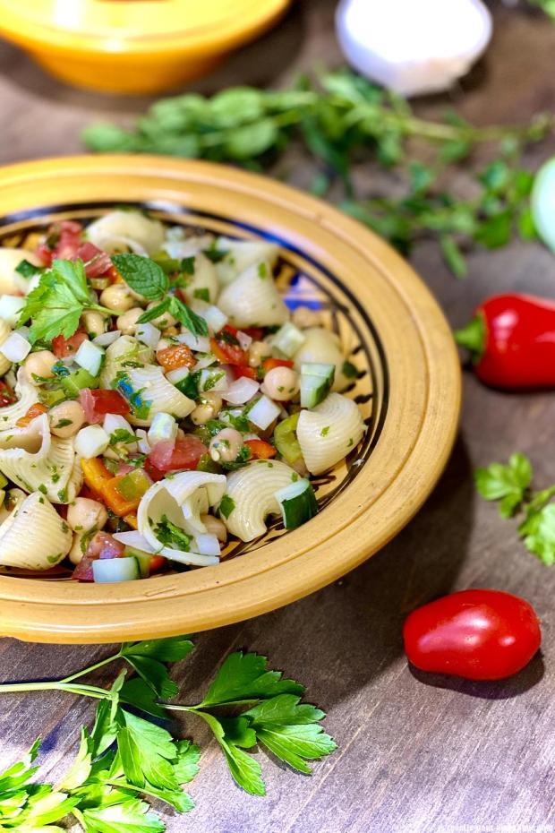 salade pates orientale