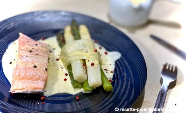saumon asperges