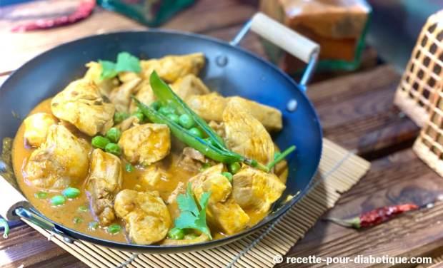 poulet thaï curry rouge