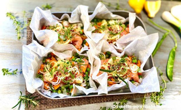 saumon romarin thym
