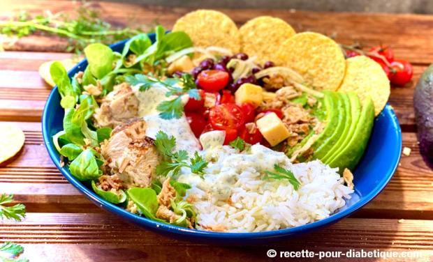 salade mexicaine riz