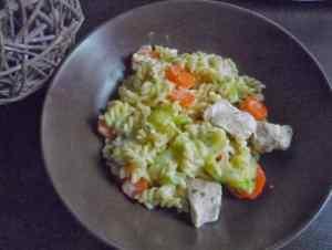 Poulet au boursin avec cookeo
