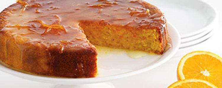 Recette cake à l'orange thermomix