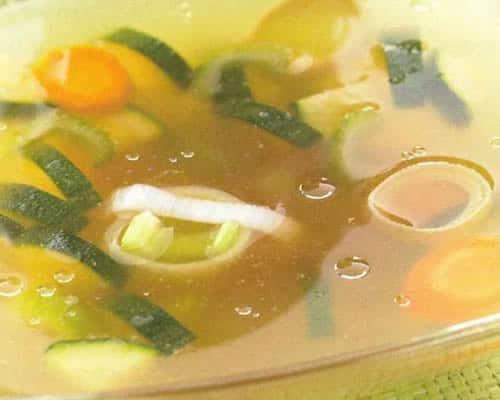 Fond de légumes maison au thermomix