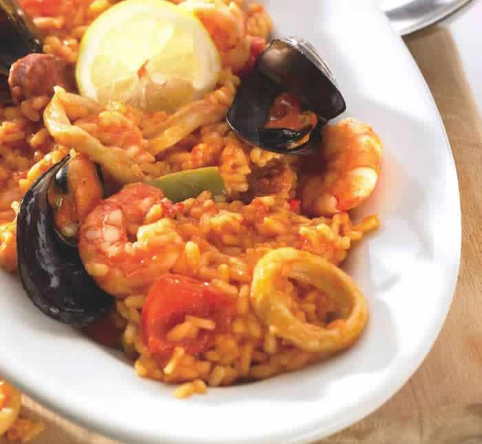 Risotto aux fruits de mer et chorizo thermomix
