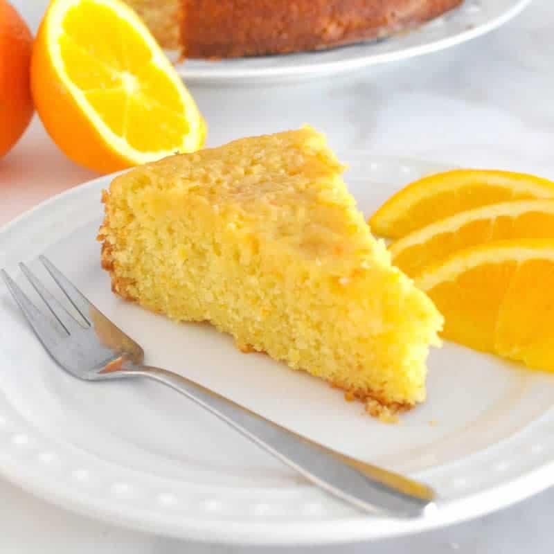 Gâteau moelleux à l'orange avec thermomix